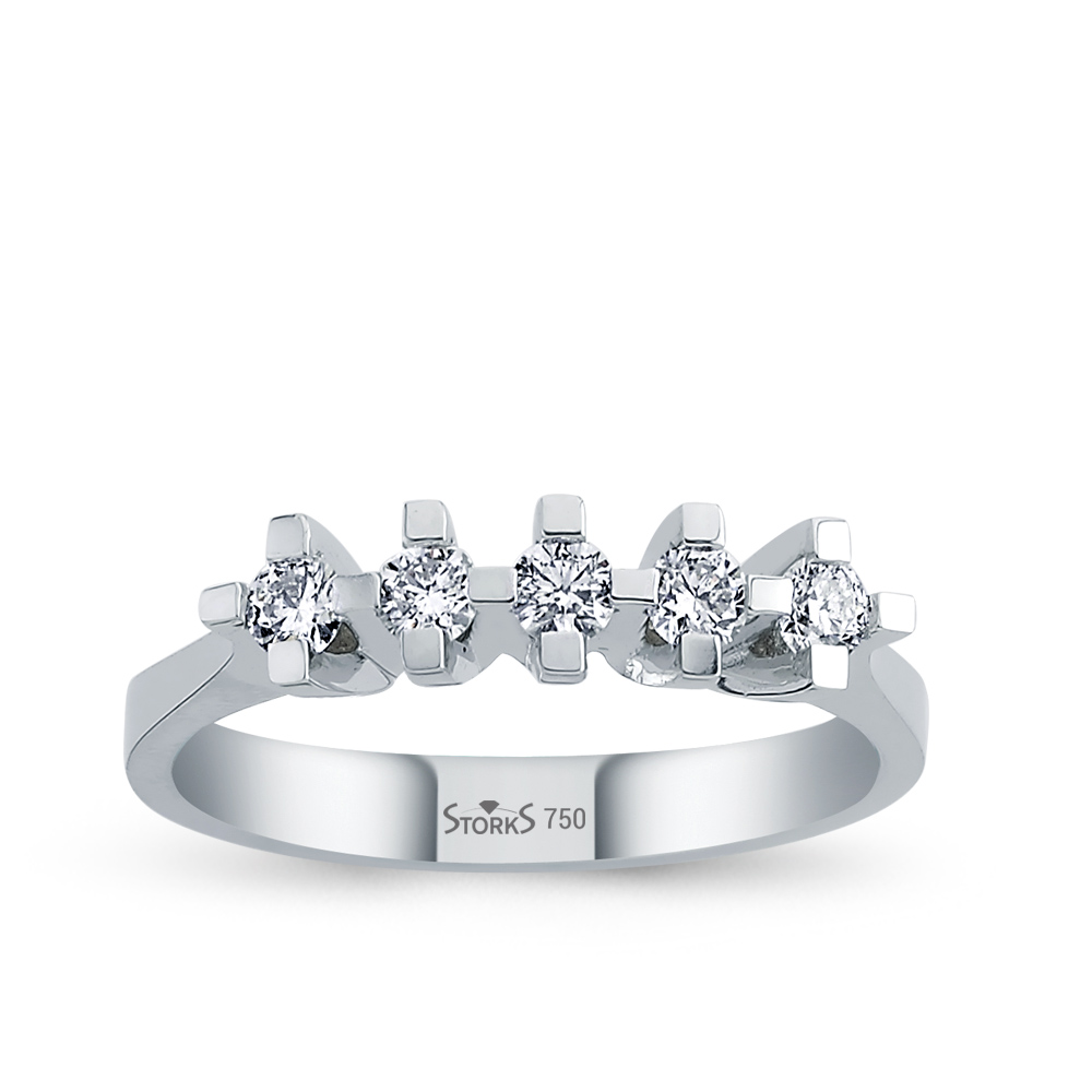 0.35 ct Diamond Wedding Ring