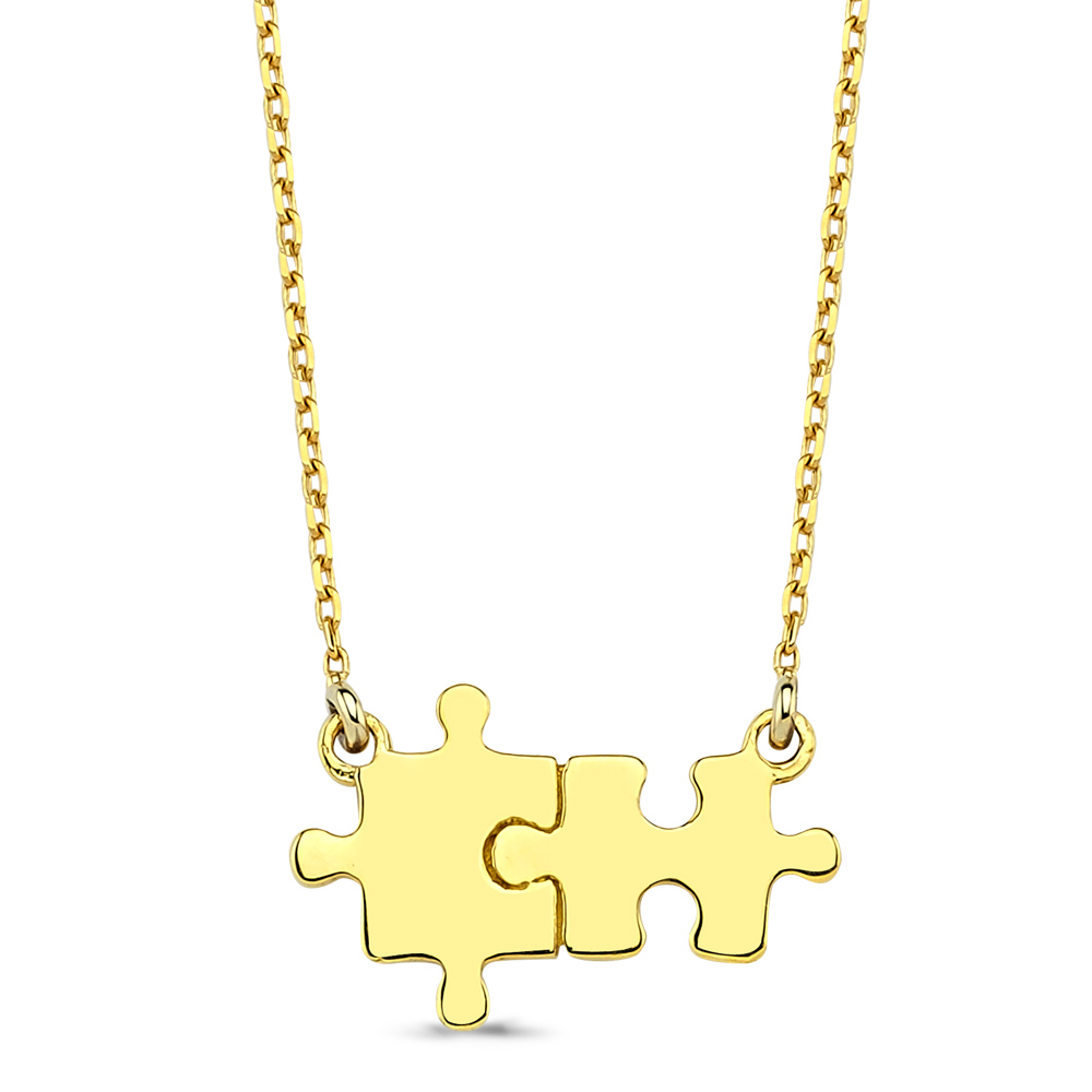 Diamond Puzzle Necklace