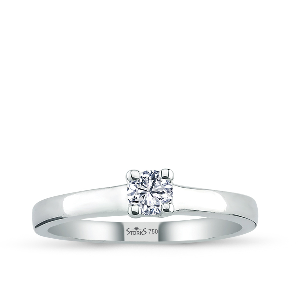 0.23 ct Diamond Solitaire Engagement Ring