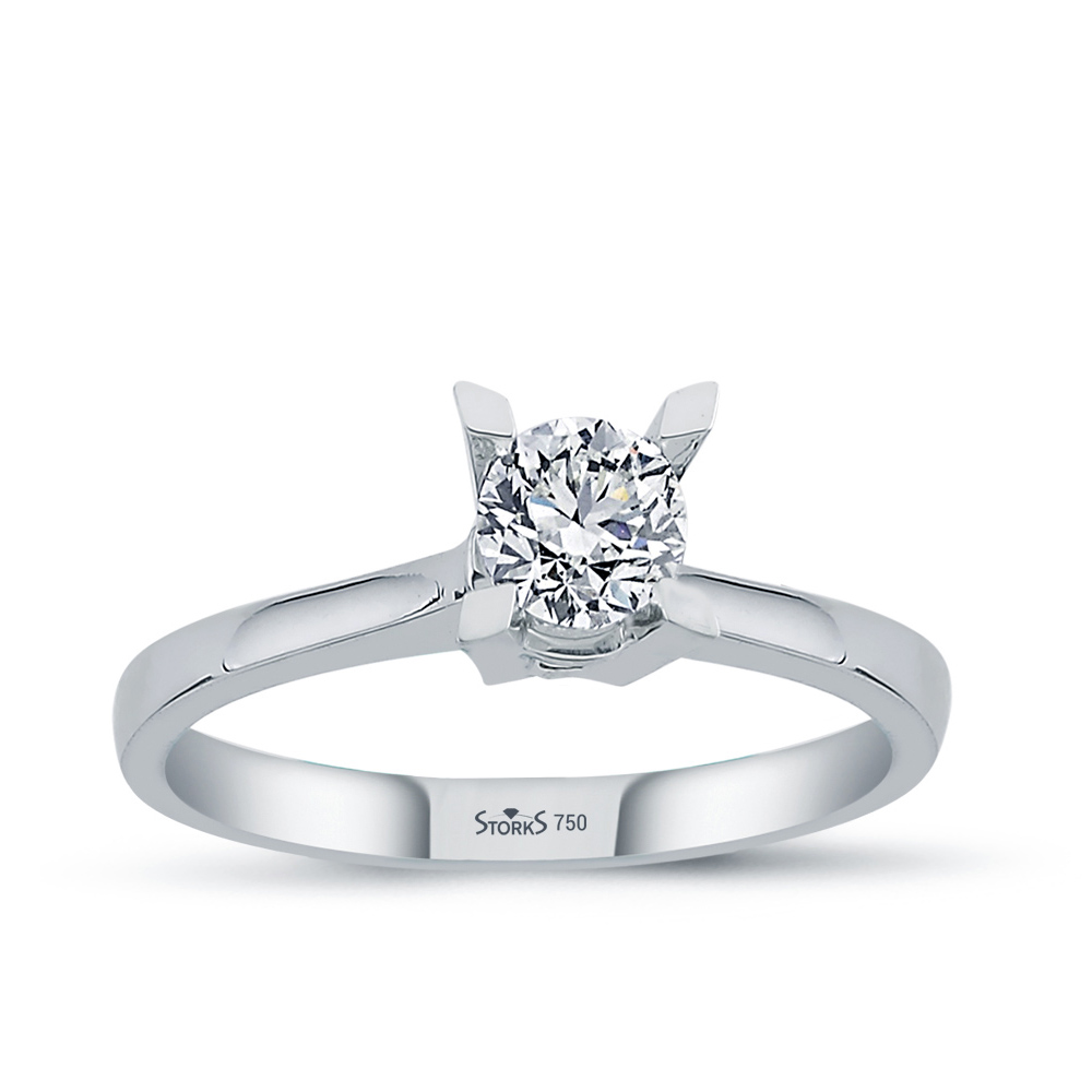 0.50 ct Diamond Solitaire Engagement Ring