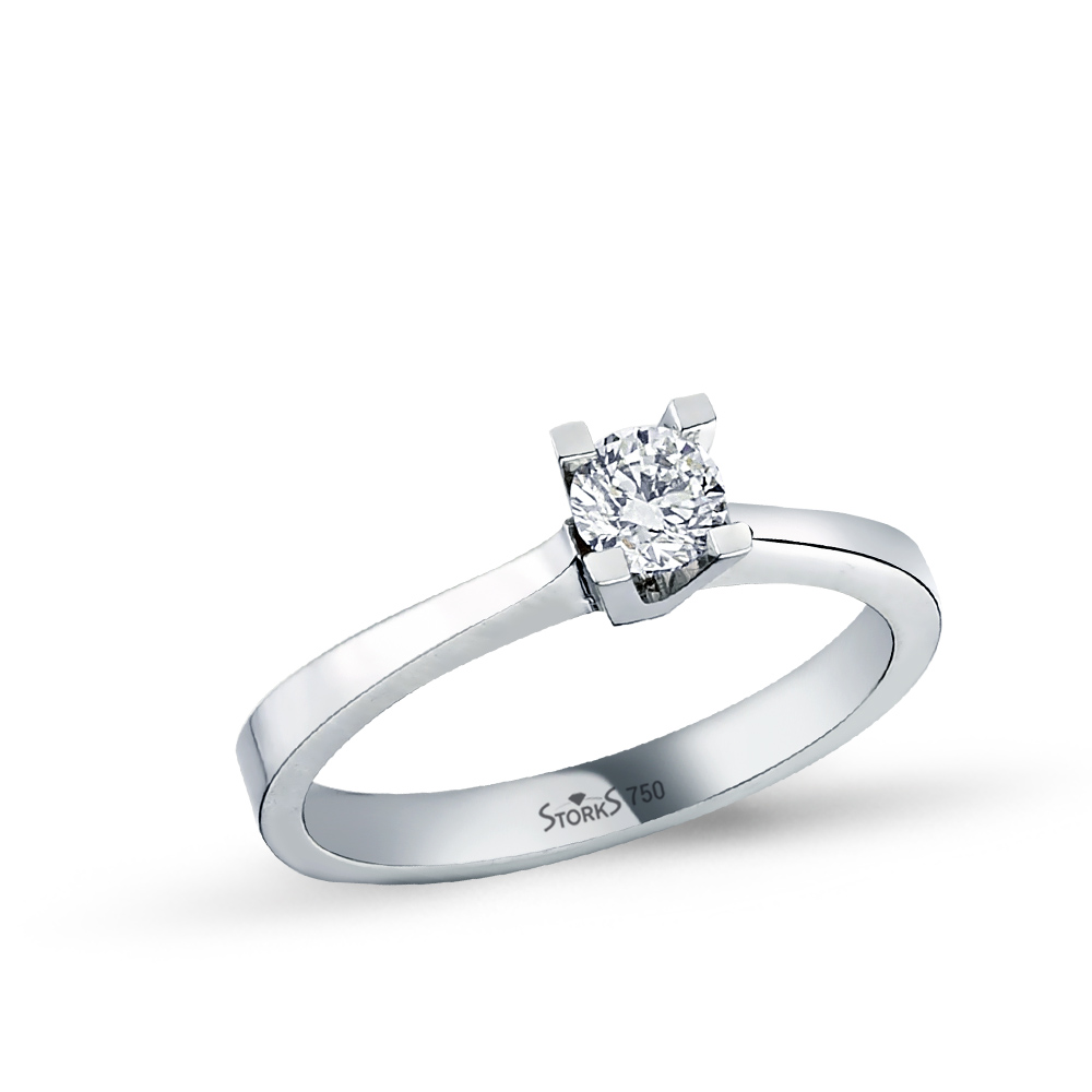 0.31 ct Diamond Solitaire Engagement Ring