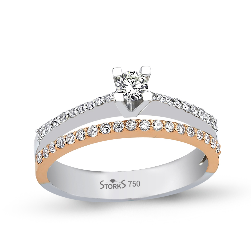 0.18 ct Diamond Solitaire Engagement Ring