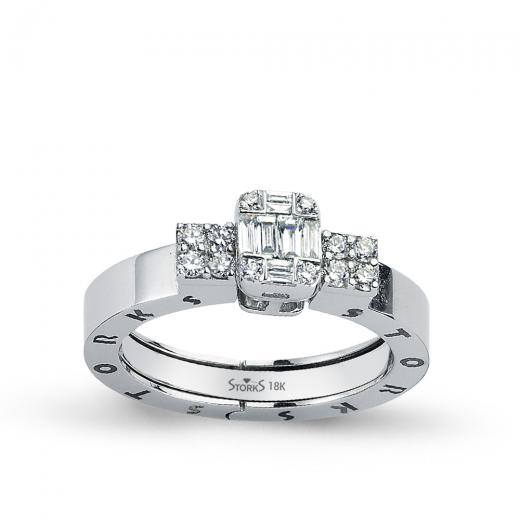 Storks Diamond Ring