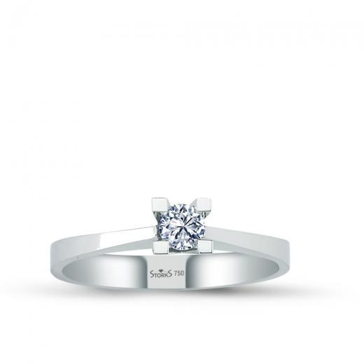 0.20 ct Diamond Solitaire Engagement Ring